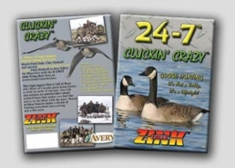 Dvd Zink calls 24-7 Cluckin' crazy goose hunting