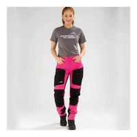 Arrak Outdoor Active Stretch Pants naisten retkeilyhousut, Pinkki