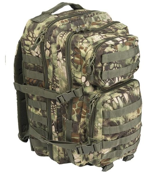 Mil-Tec  Assault Reppu 36L, MANDRA® Wood